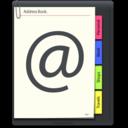 128x128 of Address Book