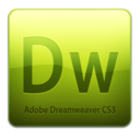 128x128 of Dw CS3 Icon (clean)