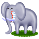 128x128 of Elephant