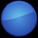 Blank Badge Blue