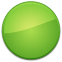 Blank Badge Green
