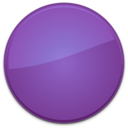 Blank Badge Purple