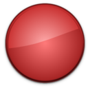 Blank Badge Red