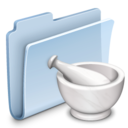 Recipes Folder Badged