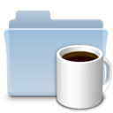 Coffee Folder Badged