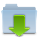 Downloads Folder Badged