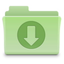 Downloads Folder Green