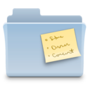 128x128 of Notes Folder