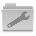 Utilities Folder Grey