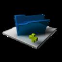 Blue Folder Add
