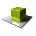 128x128 of Green Cube