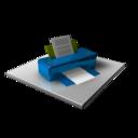 Printer Blue
