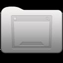 128x128 of Aluminum folder   Desktop