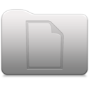 Aluminum folder   document