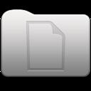 Aluminum folder   document