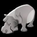 128x128 of rhino