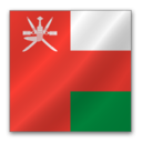 128x128 of Oman flag
