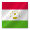 128x128 of Tajikistan flag
