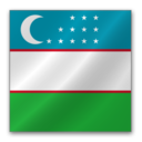 128x128 of Uzbekistan flag