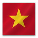 128x128 of Vietnam flag