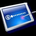 tablet blue