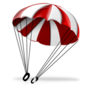 128x128 of Parachute