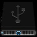 128x128 of Blue USB