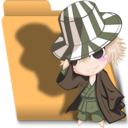 Bleach Chibi Urahara folder
