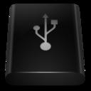 Black Drive USB