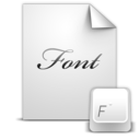 128x128 of Document Font