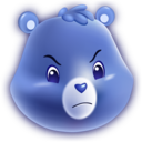 128x128 of Grumpy Bear