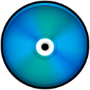 CD Colored Blue