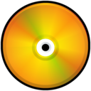 CD Colored Orange