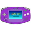Gameboy Advance purple