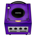 128x128 of Gamecube purple
