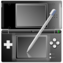 Nintendo DS with pen Black