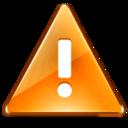 128x128 of Messagebox Warning