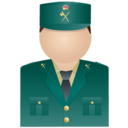 128x128 of Guardia civil uniform