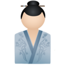 Kimono women blue