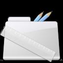128x128 of Application Folder smooth