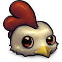 Cute Little Low Res Chicken