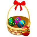 128x128 of Easter Basket