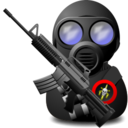 Gas Soldier with Weapon