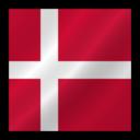 128x128 of Denmark flag