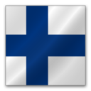 128x128 of Finland flag