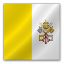 128x128 of Vatican flag