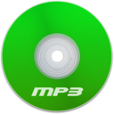 128x128 of Mp3 Green