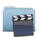 Folder Blue Clap