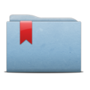 Folder Blue Ribbon