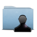 Folder Blue Users